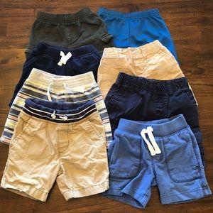 Bundle of 6 Boys Shorts, Size 24mo/2T
